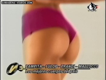 Argentina celebrity Julieta Prandi hot ass damageinc video