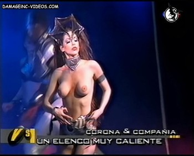 Barbara Love topless damageinc video