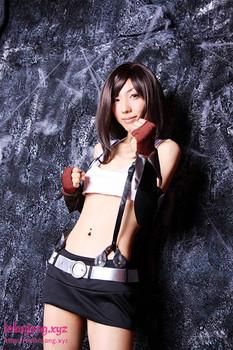 Cosplay bugil Final Fantasy Tifa Lockhart