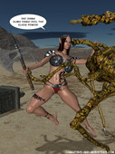 Amazons-and-Monsters Collection 3D comix
