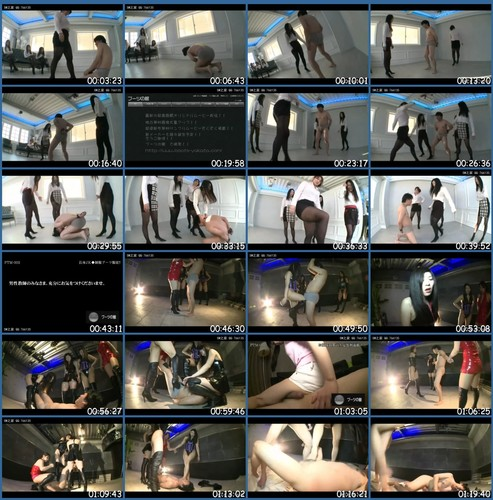 KKK-030 Mistress Lynch Fri Kick Execution Asian Femdom
