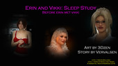 3DZen – Erin & Vikki Sleep Study Before Erin Met Vikki