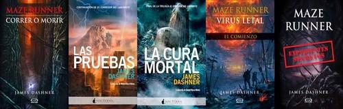 Descargar: Saga Completa: El Corredor del Laberinto [PDF/ePUB] [Español] [MediaFire] mega