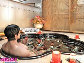 xhime - Shemale sexual adventures - Jacuzzi threesome