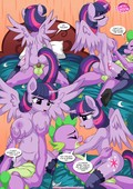 Palcomix - Sex Ed with Miss Twilight Sparkle Update