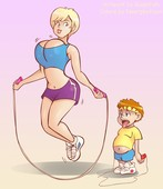Glassfish - Exercise Mom (Color)