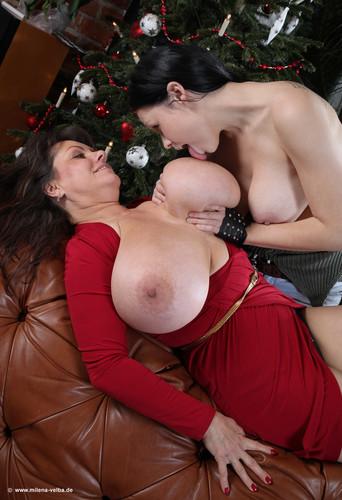Milena Velba – Jingle Bells Giant Tits  720p