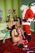 Amy Anderssen & Jessica Jaymes & Nikki Benz - Bad Elfs