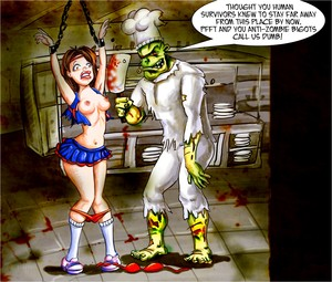 cartoon Zombie Porn
